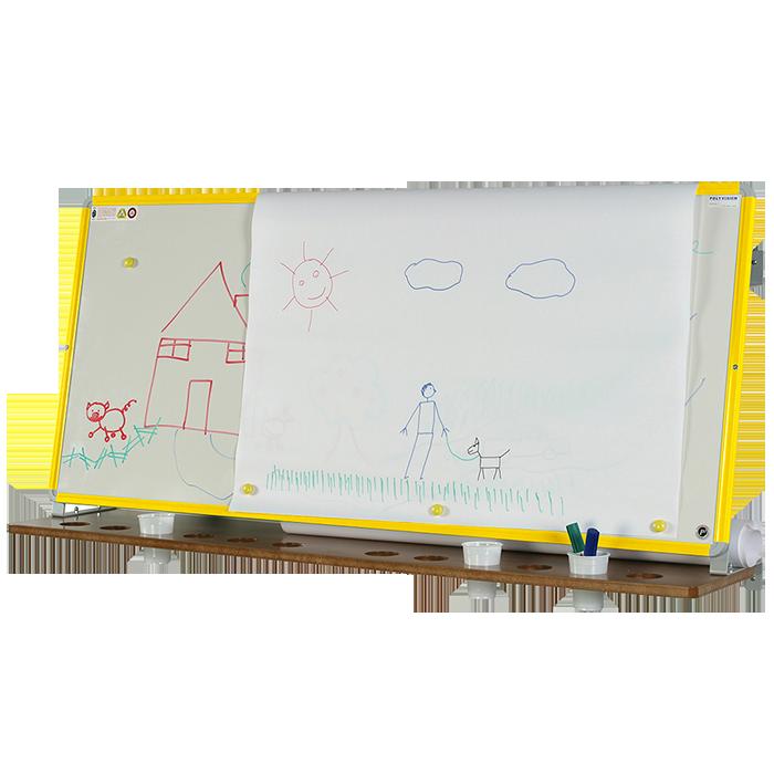 chevalet blanc gamme enfance 60x140cm tableau. Black Bedroom Furniture Sets. Home Design Ideas