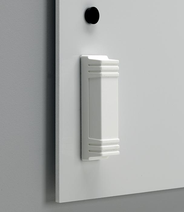 Tableau blanc design sans encadrement tableau - Tableau design blanc ...