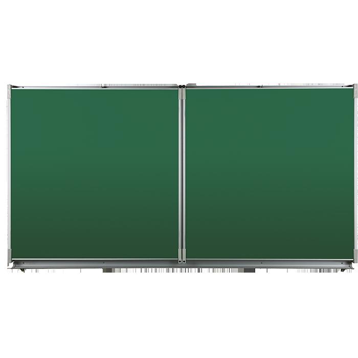 Triptyque blanc ou vert (tableau à volets) - tableau-blanc.fr